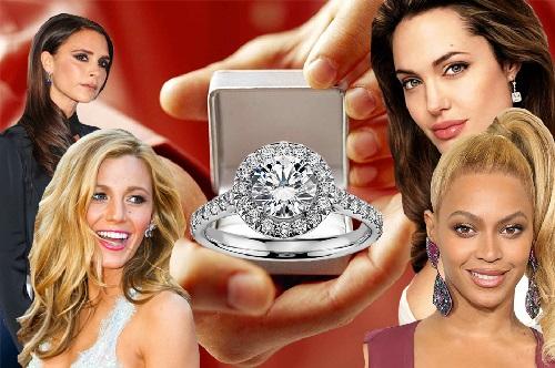 celebrity diamond rings